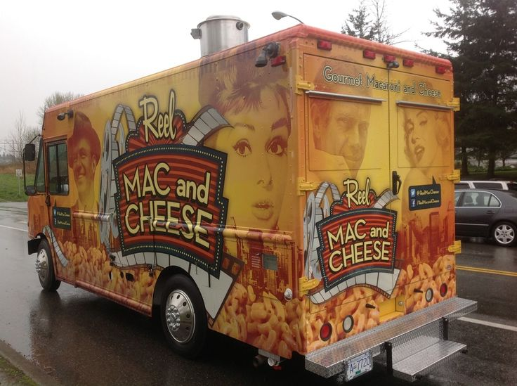 Reel Mac And Cheese Food Truck Vancouver