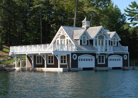 Cute boat house house pinterest boat house house for Boat garages