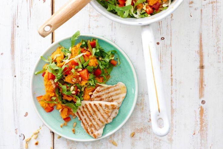 Wist je dat zoete aardappel een groente is? Dit gerecht bevat dus niet 1 groentesoort, maar twee - Recept - Allerhande