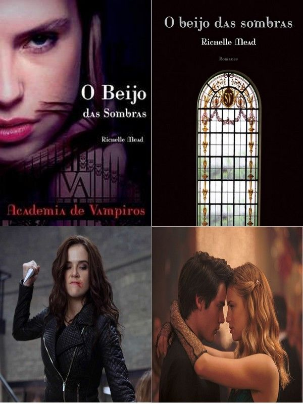 Academia de vampiros - Livro - Filme