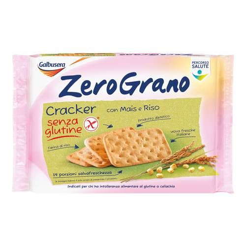 ZEROGRANO Crackers 380 g