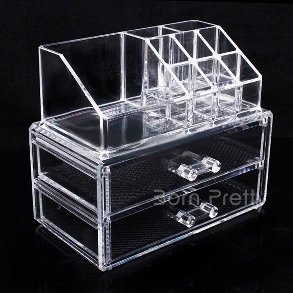 Makeup storage case. Use my code ANGELIQUEC10 to save 10%  @BornPrettyStore, Newly Drawer Design Makeup Storage Case Three... at $25.12. http://www.bornprettystore.com/-p-17702.html