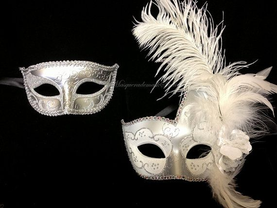 Masquerade Mask for Men and Women  His and by MasquerademaskStudio, $44.95