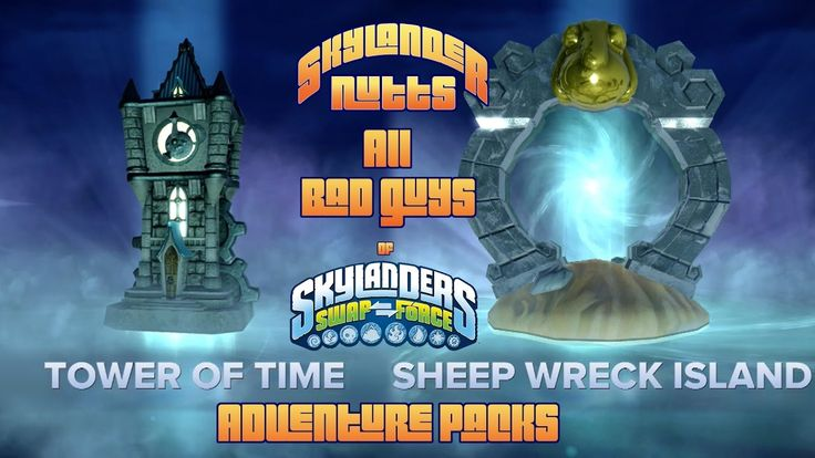 All Bad Guys of Skylanders Swap Force (Adventure Packs) - I finally went back and captured All Bad Guys of Skylanders SwapForce (Adventure Packs). Enjoy the video!