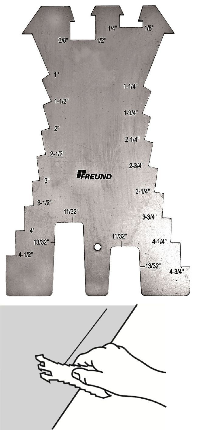 Freund Tools No 01133000 Sheet Metal Scribe Stainless Steel Ebay Sheet Metal Steel Stainless Steel