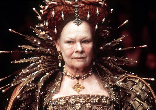 This picture released by Miramax Films shows actress Judy Dench playing Queen Elizabeth I in the film 'Shakespeare in Love' has-been Dench Nominated ...