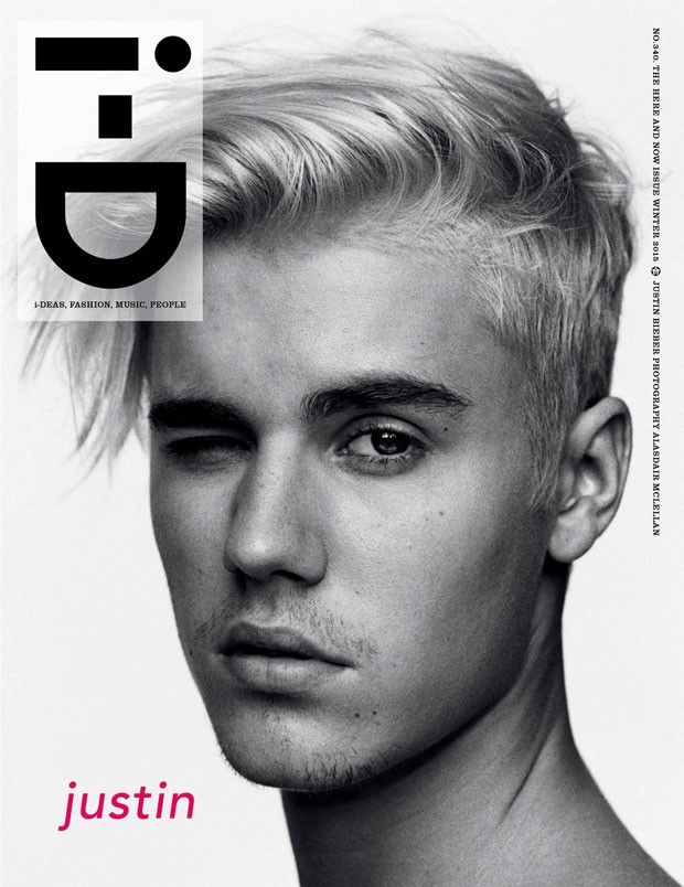 Justin Bieber Is i-D Magazine's New Cover Boy