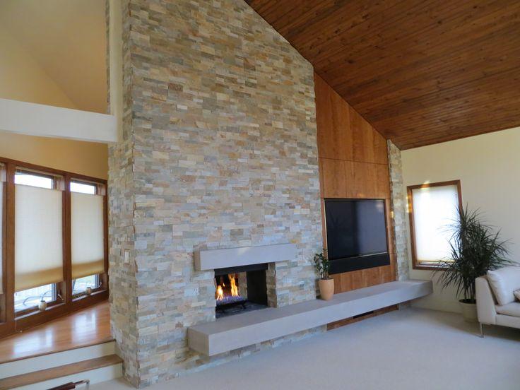Modern Stone Fireplace Designs: Best 25+ Limestone Fireplace Ideas On Pinterest