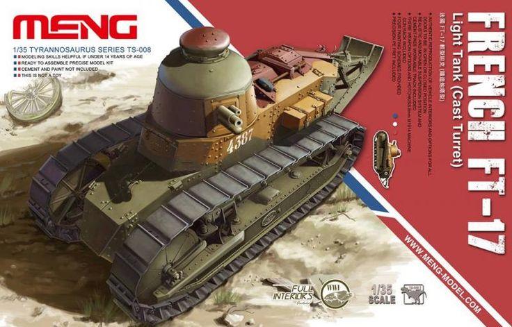 Meng, Renault FT-17 cast turret