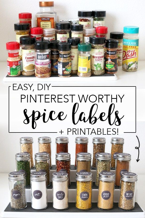 Over the next few weeks, I'll be sharing a ton of kitchen organization ideas as part of my kitchen organization series! This week's big project was the spice jars in the pantry. It was …