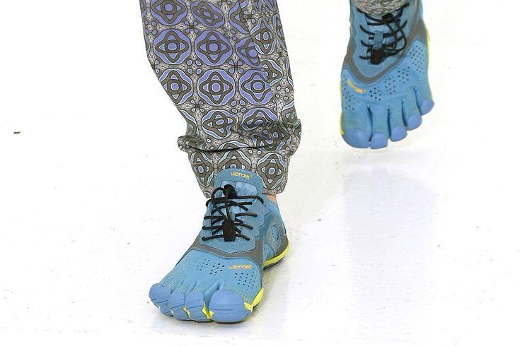 2016 Vibram FiveFinger Running Shoes Hit the NYFW Catwalk | Footwear News