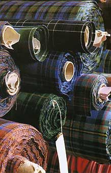 11oz Reiver Tartan Fabric. The Scottish Trading co.