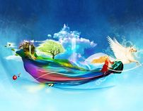 "Check out new work on my @Behance portfolio: ""Colors of dreams"" http://on.be.net/qTILRM"