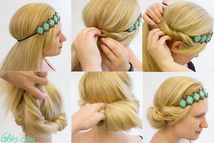 How to wear a headband in different ways: 7 Cute Ways to Wear a Headband