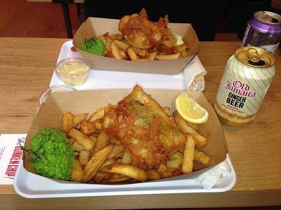 My Addresses : The Sunken Chip, le fish and chips qui met le Canal Saint-Martin à l'heure britannique - 39, rue des Vinaigriers - Paris 10