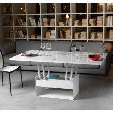 Tavolino da salotto Vela, alzabile ed allungabile