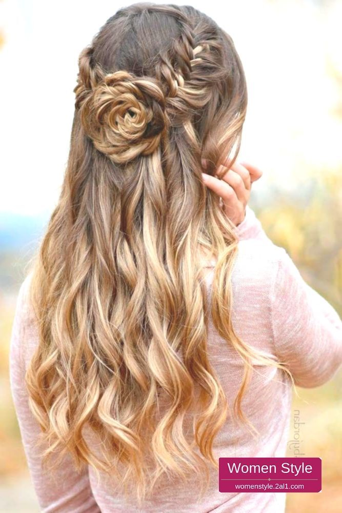 Atemberaubende Abschlussball Frisuren Fur Langes Haar Mehr