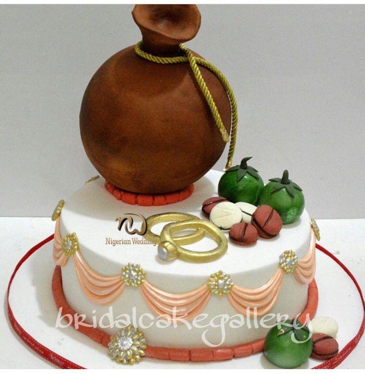 Nigerian traditional wedding cake designs