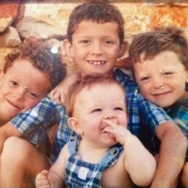 Young Tom, Harry. Sam and Paddy.
