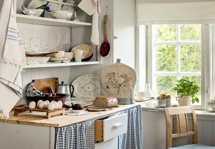 Kitchen in a Norwegian home.