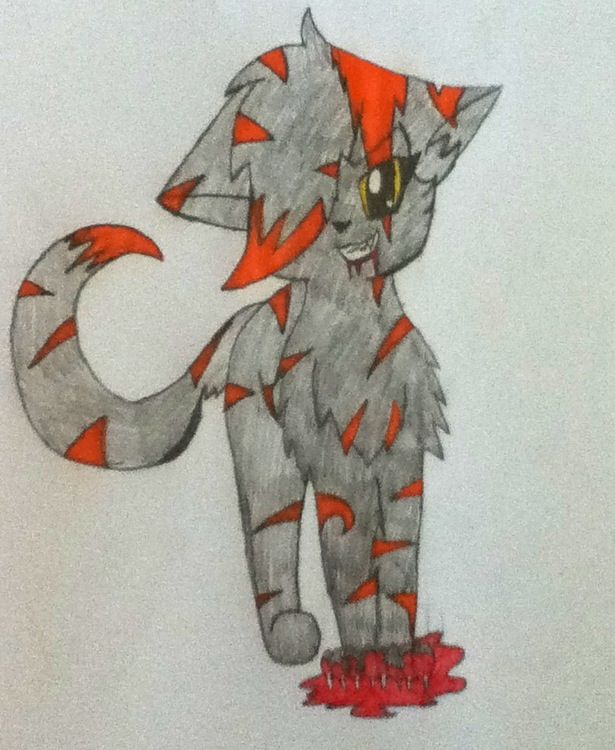 Nightfang Warrior Cat