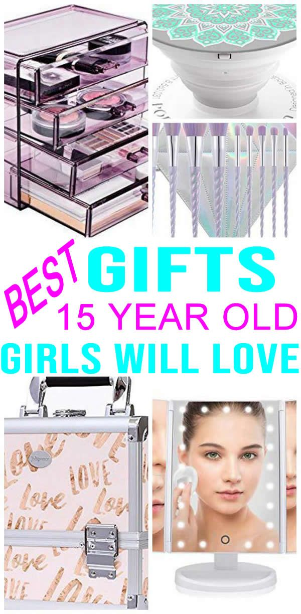 GRAB The BEST Gifts 15 Year Old Girls Will Love Most POPULAR And TRENDY Presents For A 15th Birthday Christmas