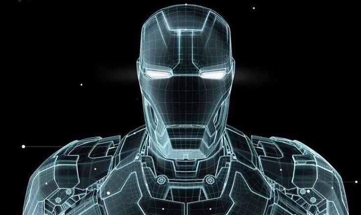 Iron man 3 hud gfx process reel for Plan d iron man