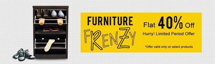 #FabFurnish Furniture Frenzy - Get flat 40% off any order.