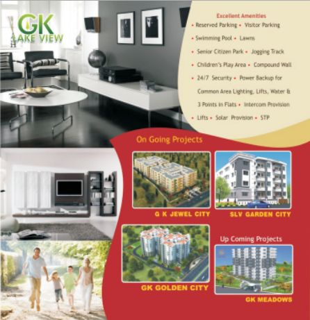 Excellent Amenities at GK Lake View
