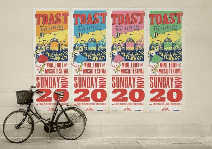 Best Awards - Ocean Design. / Toast Martinborough (and great bike!)