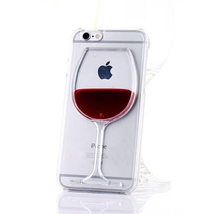 Купить товарНовый жидкость плывун красное вино стекло прозрачный телефон чехол твердый переплет для iPhone 4 4S 5c 5 5S 6 6 s 6 плюс 6 s плюс в категории Сумки и чехлы для телефоновна AliExpress.            Спецификация:                                    Состояние: 100% новый бренд и высокое качество