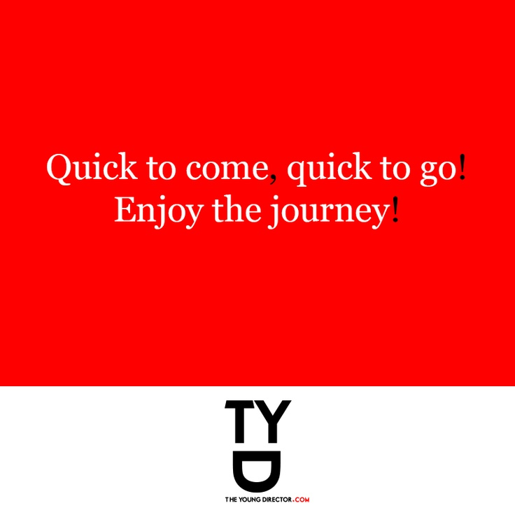 Quotes On Journey Of Success: Enjoy The Journey Quotes Pinterest