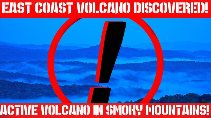 Earthquake Report | Massive Active Volcano Discovered on The East Coast ...