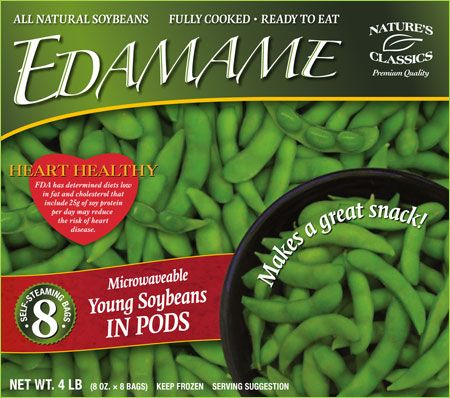 how to cook frozen edamame in microwave in bag