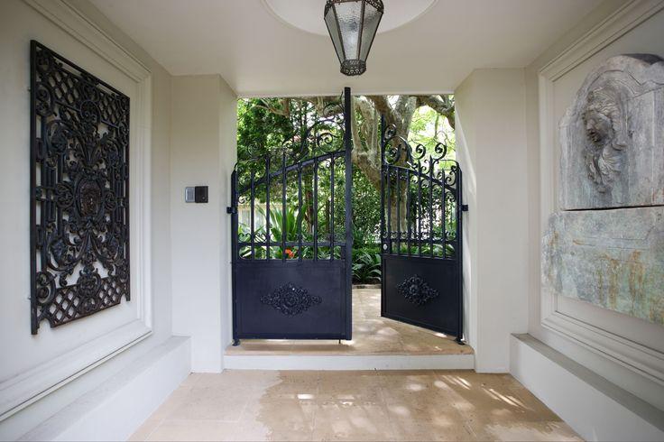 Front gate, original design