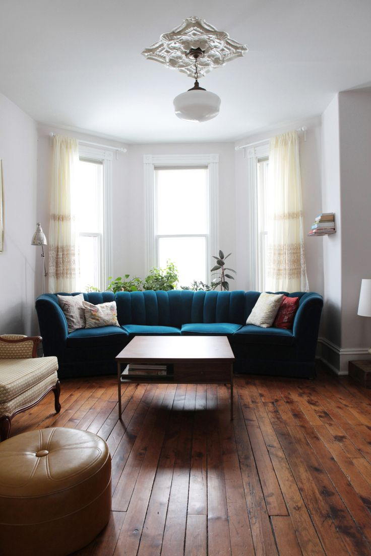 A bay and gable home in ontarios arts culture hub design · living room