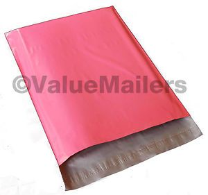100 10x13 Pink Poly Mailers Shipping Envelopes Couture Boutique Bags 2 5 Mil Bag | eBay