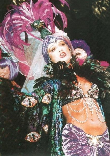 Moulin Rouge Budapest, 2000  Revue Déja Vue  Costume design by Gabriella Parádi