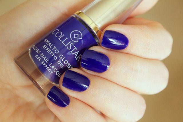 Collistar Gloss Nail Gel Effect no 571 Spirited Blue