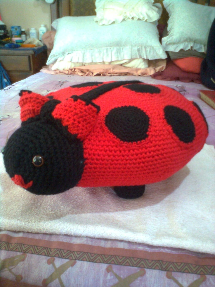 LADYBIRD WITH RED BOW
