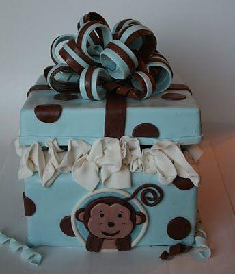 71 best monkey boy baby shower birthday party ideas images on pinterest monkey baby showers - Monkey baby shower cakes for boys ...