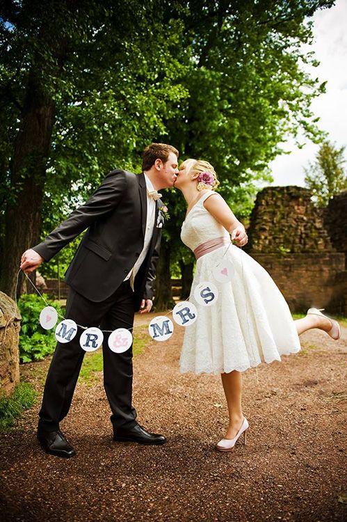 MR & MRS Girlande / garland wedding renna deluxe © www.nadine-persijn.de