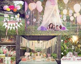 Outdoor tea parties ideas