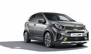 """Kia Picanto X-Line Combines Turbo Engine and Crossover Design :  Kia has announced that the all-new crossover-inspired Picanto X-Line will be making its debut at the 2017 Frankfurt Motor Show (IAA) later this month. It's also going to be on sale soon.   4 photos  Nothing says """"look at me"""" like a cool body kit. Of course the Picanto X-Line isn't a crossover in any way. But neither is the VW Cross Up! or the Suzuki Ignis.  Kia says the styling was inspired by its  SUV  models like the…"""