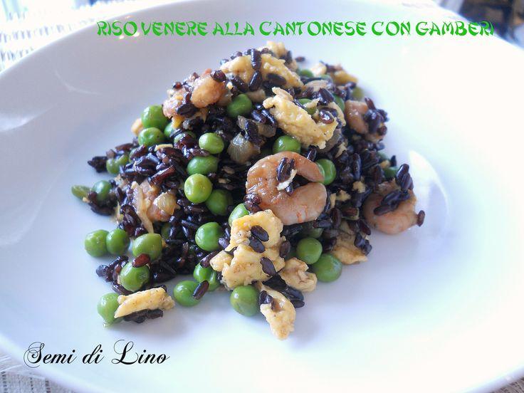 Riso venere con gamberi: ricetta orientale rivisitata
