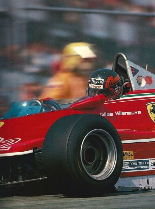 Gilles Villeneuve, Ferrari 312 T4 1979
