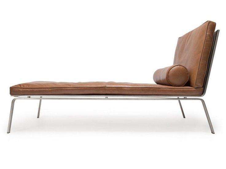Leather day bed Man Collection by NORR11 | design Knut Bendik Humlevik, Rune Krøjgaard