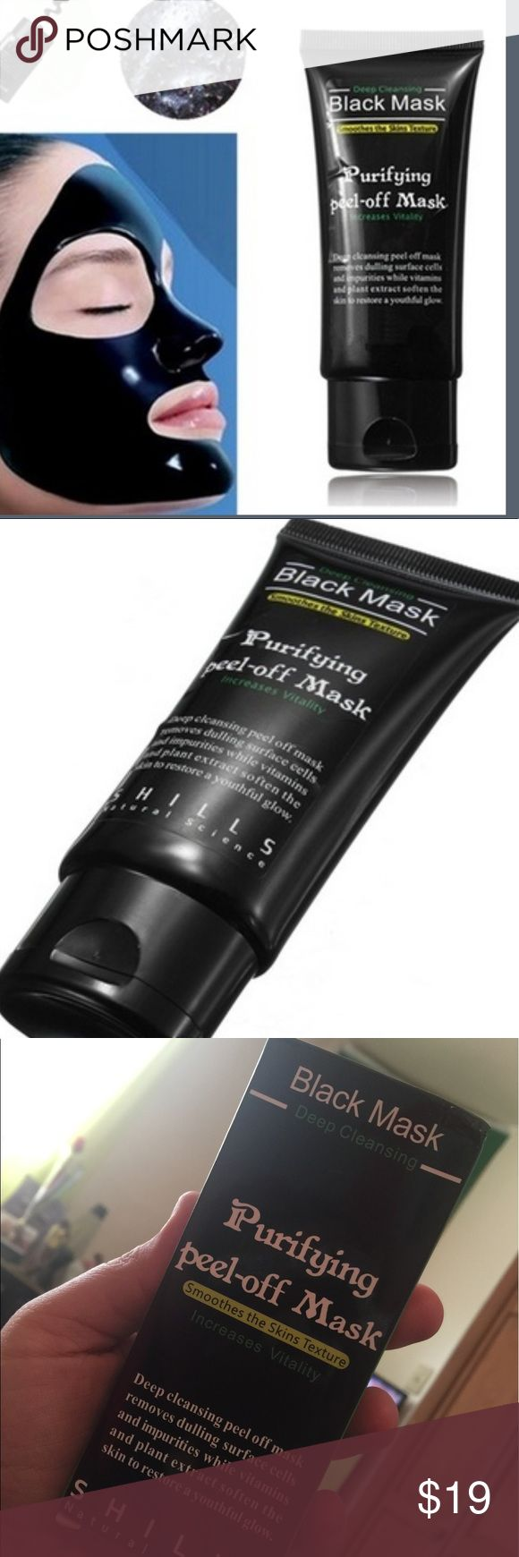 💜Black peel-off mask 💜 Brand new in the box. Size 50ml. shills Accessories