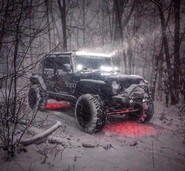#jeep #wrangler #snow