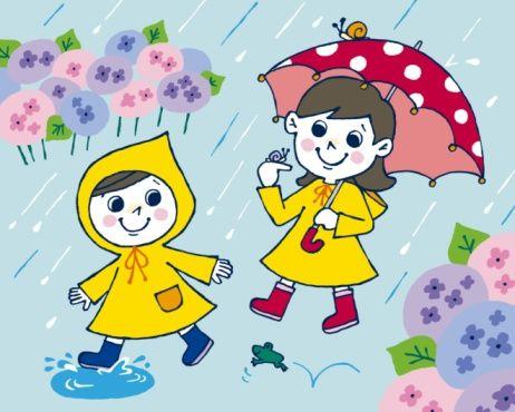 rainy day cartoon rainy season drawing cartoon - Cartoon Pictures Of Kids